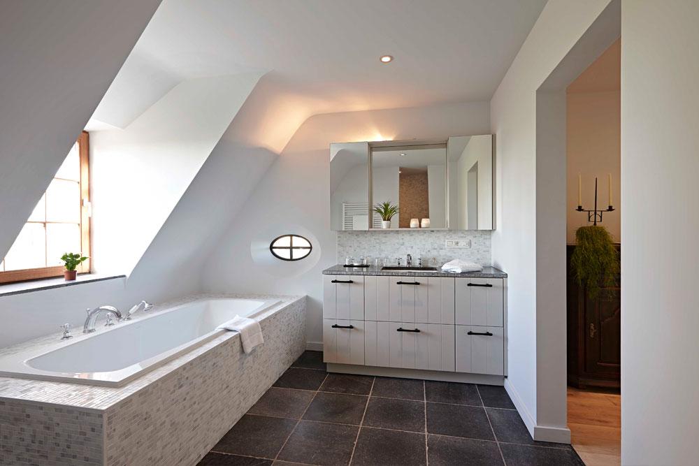Landhuis-Mazeure-badkamer | © fotograaf Jan Verlinde