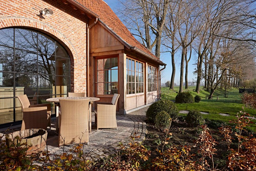 Landhuis-tuin-terras | © fotograaf Jan Verlinde
